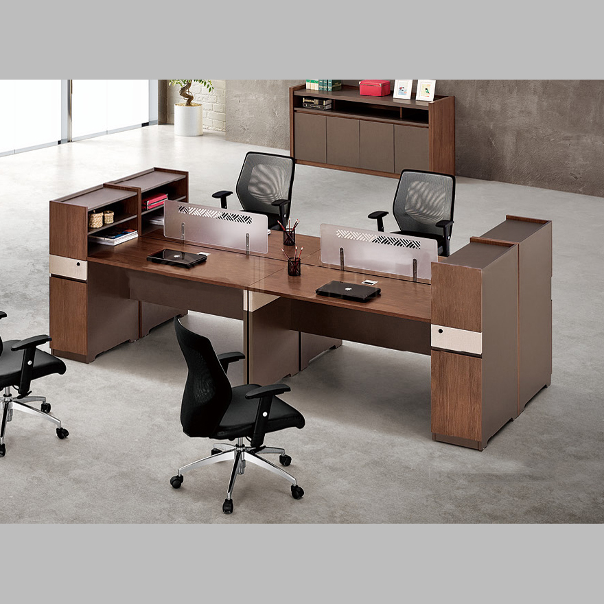 板式肯丁木系列职员桌B-KD150112