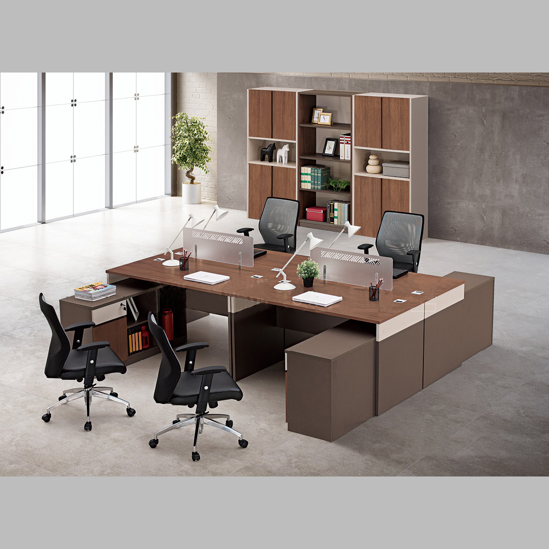 板式肯丁木系列职员桌B-KD150116