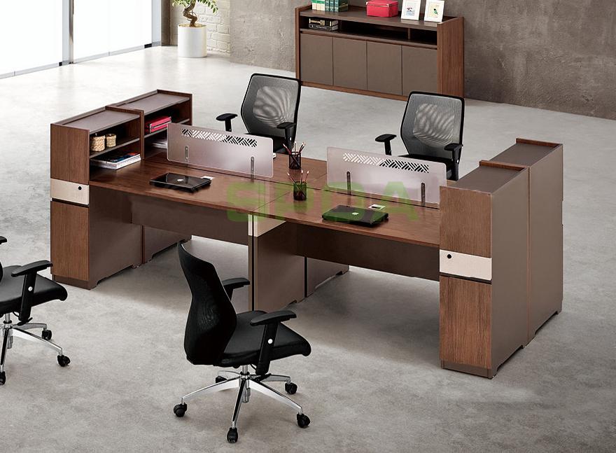 板式肯丁木系列职员桌
