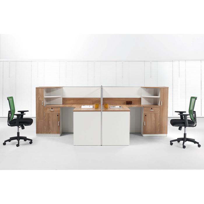 板式华美系列职员位员工桌B-HM150702